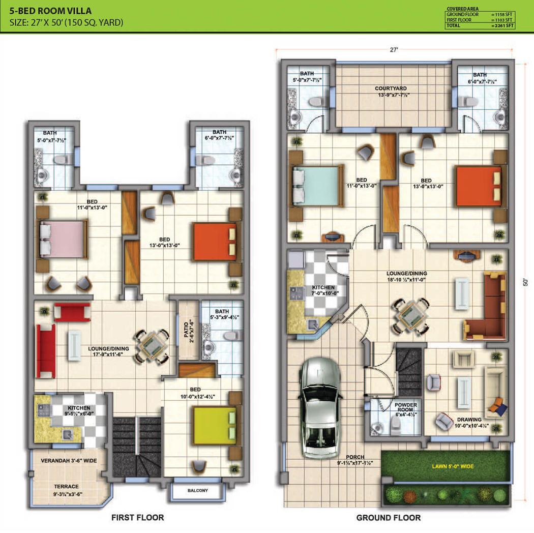 10 Marla Plot Home Design 28 Images Corner Plot 3050 5
